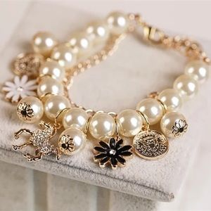 🆕 Pearl Charm Bracelet